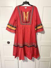 Crown and Ivy Pom Pom Midi Dress Size XXL