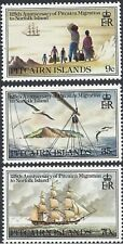 Pitcairn Islands 1981 Migration to Norfolk Island 125th An (3) Unh Mint SG 216-8
