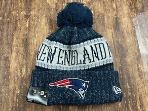 New England Patriots Blue NFL Football Beanie - New Era - OSFM - NWT