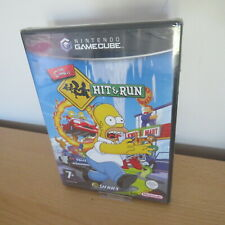 The Simpsons: Hit & Run nintendo gamecube new sealed pal version