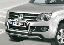 EU Frontbügel in Edelstahl 70mm für Volkswagen Amarok - Frontschutzbügel