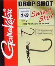 Gamakatsu Swivel Shot Hooks - Drop Shot Haken vom Allerfeinsten, Dropshot