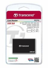 Transcend USB 3.0 Multi-Card Reader for SD/SDHC/SDXC/MS/CF Cards (TS-RDF8K)--