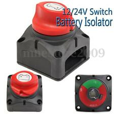 12/24/48V Boat Knob Battery Isolator Switch Cut Off Power Disconnect Control