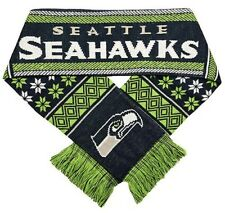 BRAND NEW FOREVER COLLECTIBLES NFL SEATTLE SEAHAWKS LODGE ACRYLIC SCARF 2016