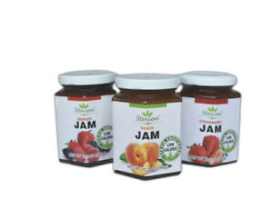 Stevien Jam Keto Friendly Made With Organic Stevia Low Calorie Vegan Gluten Free