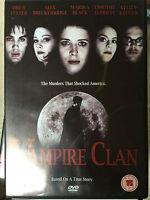 Drew Fuller Marina Black Vampire Clan ~ Vraie Vie Murder Drame GB DVD