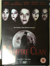 DREW FULLER Marina Negro Vampiro Clan ~ True Life Asesinato Drama GB DVD