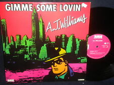 "A.J. Williams ""Gimme Some Loving/This Love of Mine"" 12"" 45 France Import"