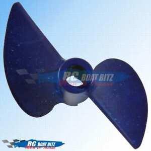 Traxxas Spartan upgrade CNC prop Blue 10km speed increase