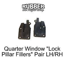 """1965 1966 1967 1968 Ford Galaxie / LTD """"U Jamb"""" or Lock Pillar Seal - pair"""