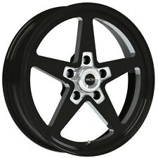 15X4 VISION SPORT STAR II BLACK ALUMASTAR PRO DRAG RACE WHEEL 5X4.75 NO WELD