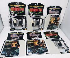 6 1998 Toy Biz Resident Evil Card Backs