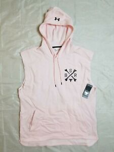 Under Armour Men's XXL Project Rock Charged Cotton Sleeveless Hoodie 1357182-643