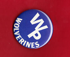 West Potomac Wolverines High School Pin