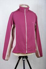 P334/L08 Nike Golf Pink Removable Sleeve Windbreaker Track Jacket, size 12
