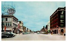 KANSAS Massachusetts Street LAWRENCE Eldridge Hotel 50s Cars Cafes Main St  B11l