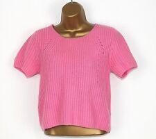 Topshop ladies Jumper 10 Pink 14% angora Soft! Autumn Winter Christmas 1a