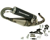 Exhaust Sports Muffler Tecnigas Triops with Ce Gilera DNA Ice Runner Stalker