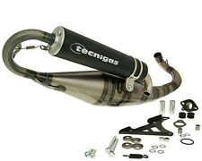 Exhaust Sports Muffler Tecnigas Triops with CE Piaggio NRG MC2 MC3 Power Extreme