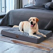 New listing Western Home Orthopedic Dog Bed for Large Dogs Chew Proof Large Dog Bed with .