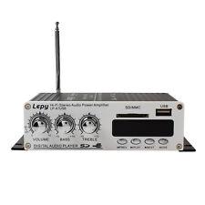 Fernbedienung 100W USB *Stereo Power Amplifier Car Amp Auto Fahrzeug Verstärker