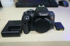 Canon EOS Rebel T6i 24.2MP Digital SLR Camera - Black (Body, Battery, Charger)
