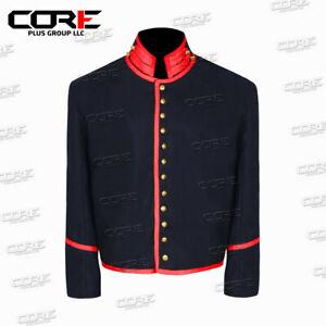 US Civil war Artillery Red St Louis Depot Mounted Services wool Shell Jacket