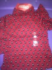 NWT Gymboree glamour kitty cats turtleneck shirt 12 18 mos red top holiday event