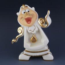 Lenox China COGSWORTH Right on Time Beauty & The Beast Disney Showcase Figurine
