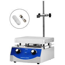 Sh 3 Hot Plate Magnetic Stirrer Mixer Stirring 17x17cm 3000ml Dual Control