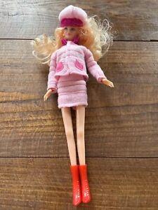 """Vintage 90s Barbie Clone Uneeda 12"""" Clothes Shoes Blonde Caucasian Blue Eyes"""
