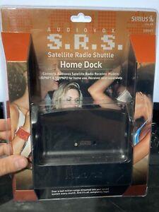 New Sirius XM SIRHK1 SRS Satellite Radio Shuttle Home Dock by Audiovox! Sealed!