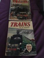 Vintage books. Trains A Pageant Picture Book.1959. Trains Ian Allen C 1956