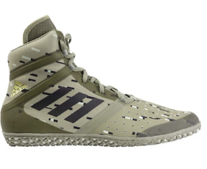 Adidas | AC7494 | Impact Digital | Olive | Authentic Wrestling Shoes | CLOSEOUT