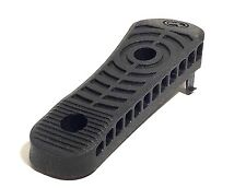 PTS ENHANCED RUBBER BUTT-PAD BLACK FOR  RIFLE STOCKS MAG-317