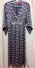 SARAH Anthropologie Zebra Print 100% Thick Silk Kimono Dress Womens 8 M NWOT New