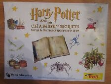 Harry Potter Chamber of Secrets Spells & Potions Activity Kit Sealed Troll
