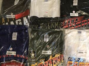 SIX PACK OF NHRA DRAG RACING TOP DRIVERS T- SHIRTS  ALL SIZE 3X