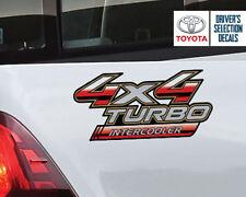 Toyota Hilux 4x4 Turbo Intercooler side sticker decals graphics