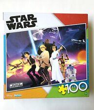Disney STAR WARS Galaxy of Adventures 100 Piece Puzzle, Buffalo Games