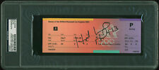 Evander Holyfield Authentic Signed 1984 Olympics Boxing Ticket Stub PSA Slabbed