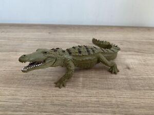 Vintage 1996 Safari Ltd Solid Plastic Crocodile Figure In Ex Cond