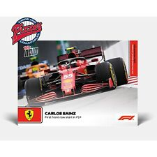 Carlos Sainz 1st Front Start Formula 1 F1 TOPPS NOW 59 Presale