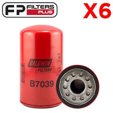 6 x B7039 Baldwin Oil Filter LF3630, P550371, F4TZ6731A, AFL72MC, Z642 7.3L F250