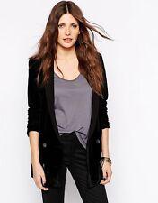 Velvet Blazer Double Breasted Coats & Jackets for Women