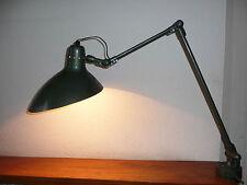 Lampe d'atelier des années 60's - 70's  avec sa pince étau Jean boris lacroix