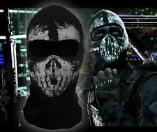 Call of Duty 10balaclava face ghost skull mask hood biker skateboard Cosplay COD