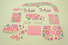 """16"""" RALEIGH KOOL MISS DECAL TRANSFER ,STICKER SET FOR GIRLIE BIKES WTFRM116"""