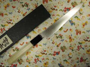 Ashi Hamono Ginga Swedish Stainless Wa-Petty Japanese Knife 180mm